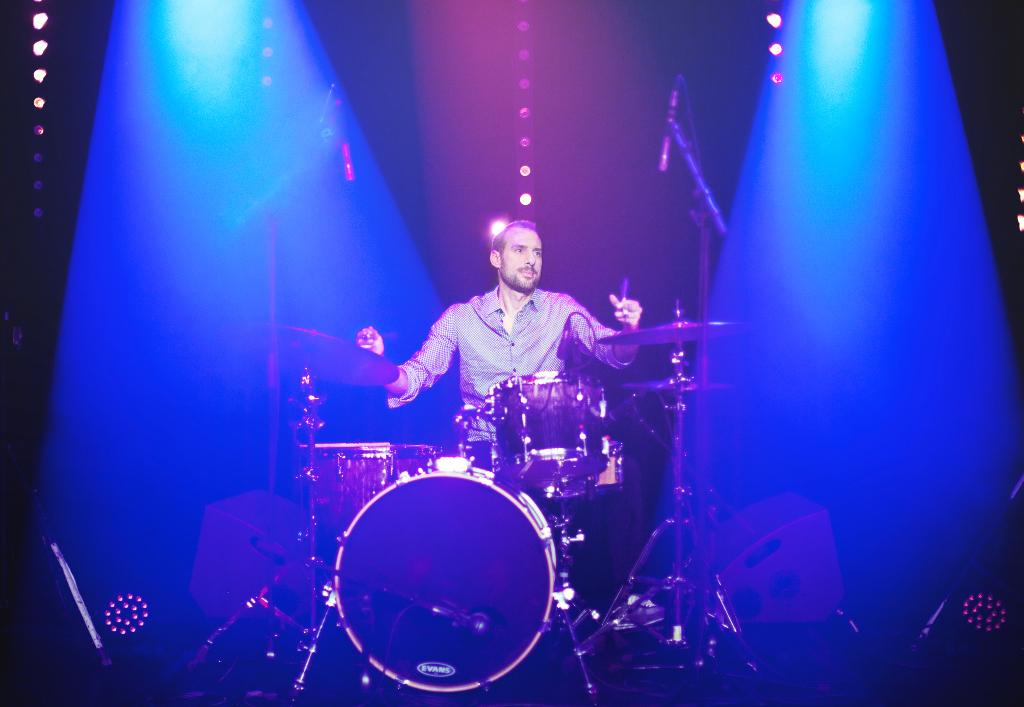 Franck Chenal - photo live (© Anaëlle Trumka)